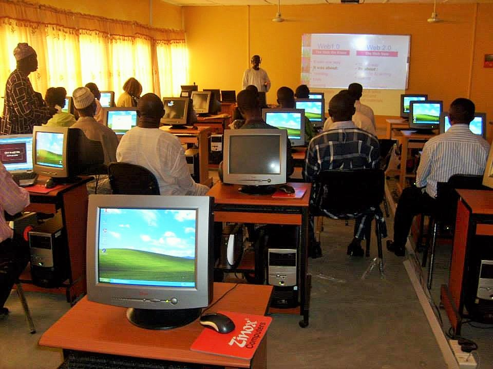 Presenting at e-Learning Conference, Federal College of Education (Technical), Omoku, Nigeria