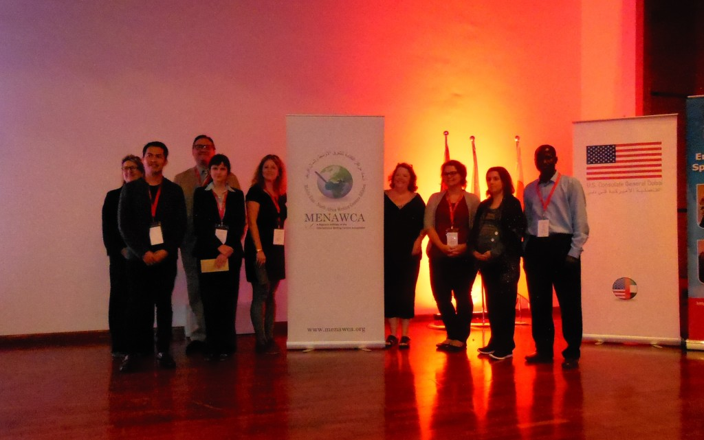 Middle East North-Africa Writing Center Conference, Dubai, 2014
